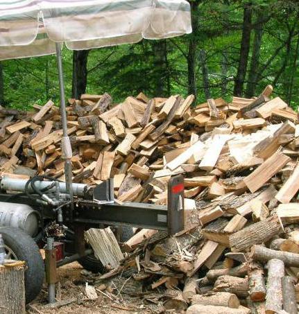 самодельный колун для дров