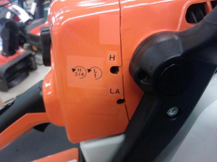 Как настроить карбюратор на бензопиле