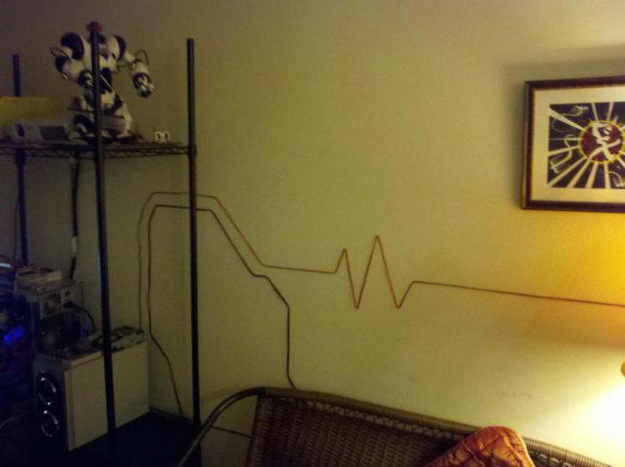 как декоративно спрятать провода