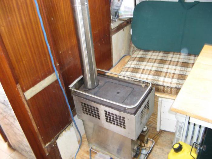 дизельная печка