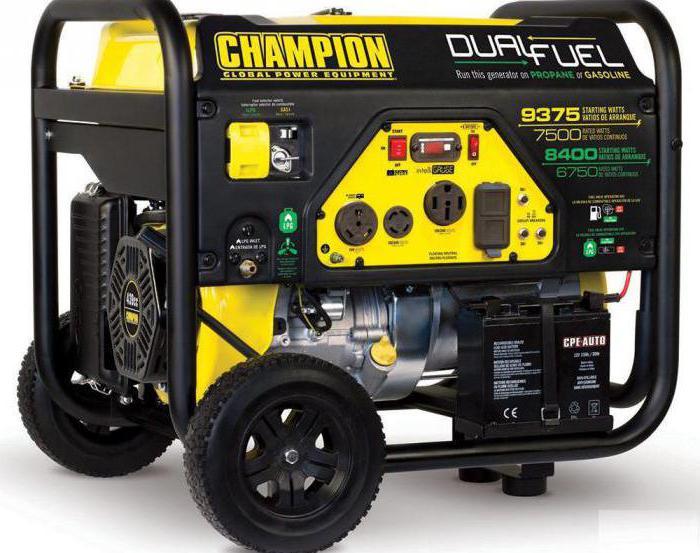 бензиновый генератор чемпион