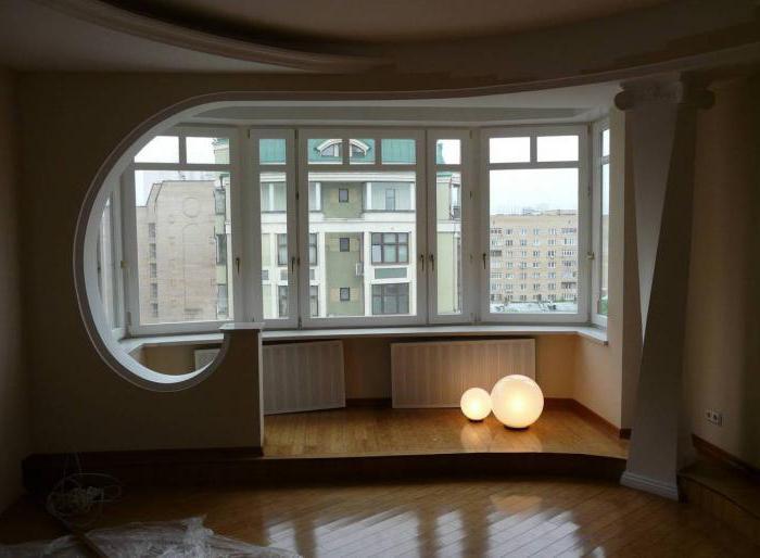 объединение балкона с комнатой дизайн