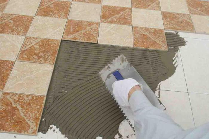 Клей для гипсовой плитки