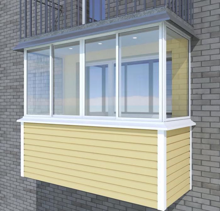 Отделка балкона сайдингом: пошаговая инструкция.