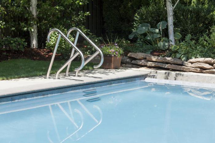 Лестница для бассейна из пластиковых труб своими руками 61