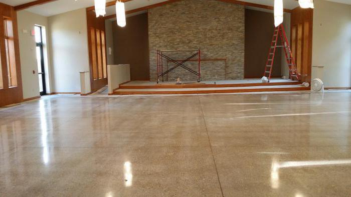 швы в бетонном полу