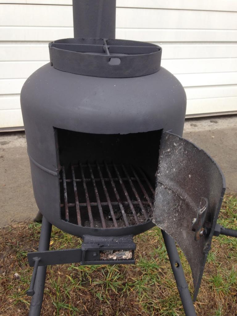 gas cylinder potbelly stove