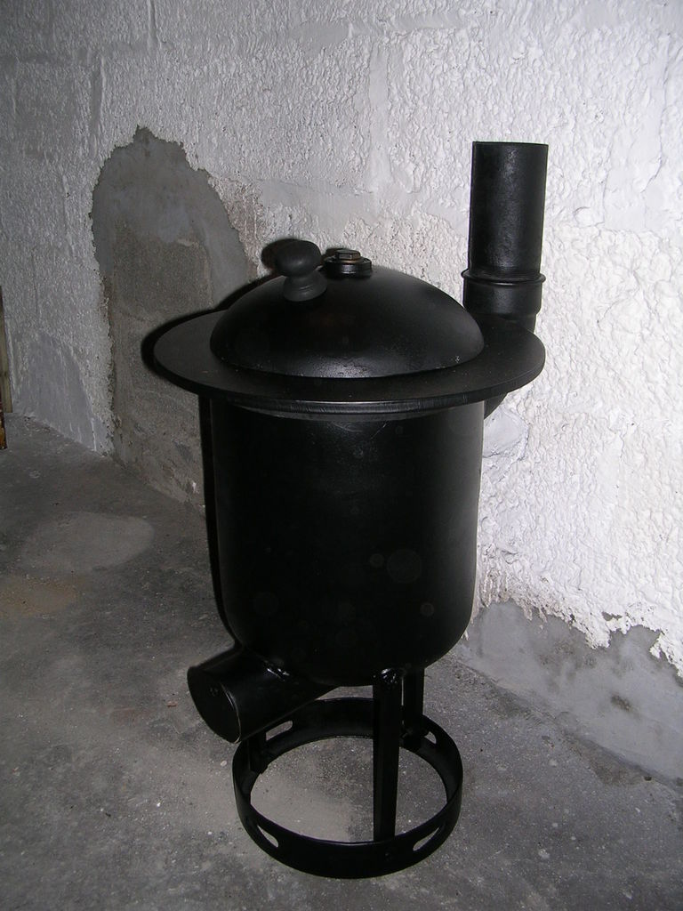do-it-yourself stove stove for summer cottage