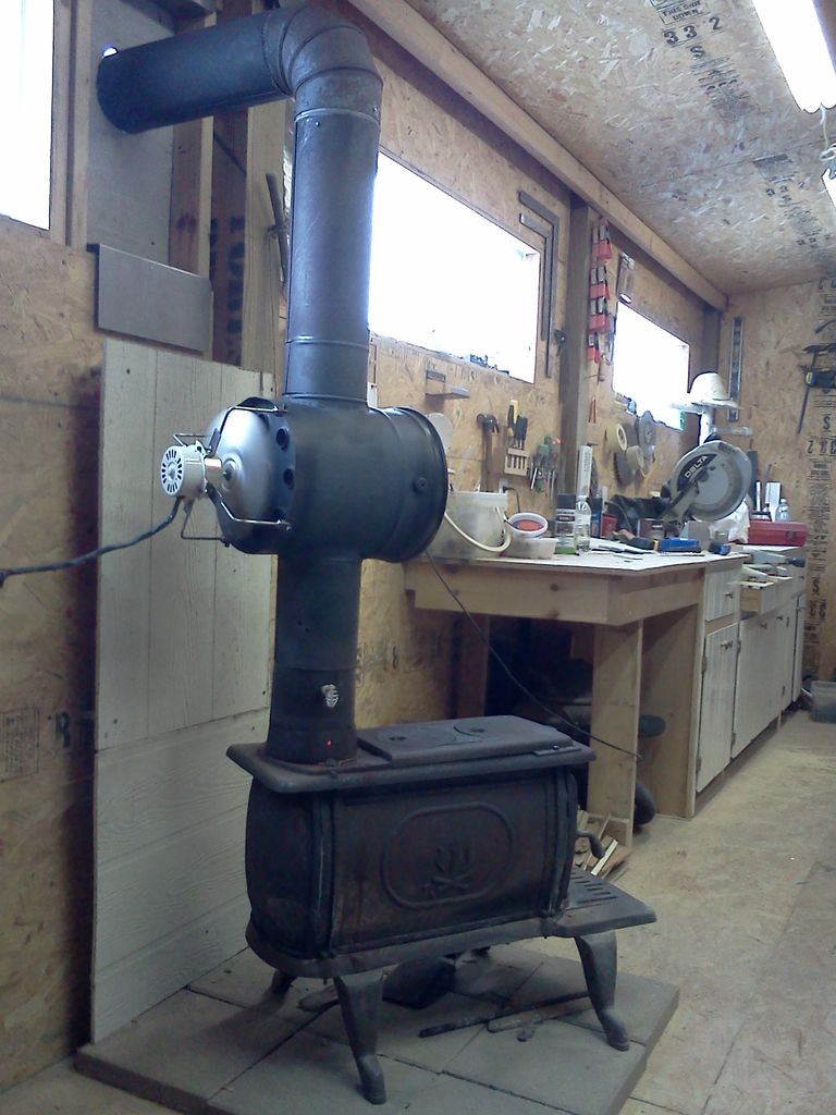 do-it-yourself oil stove