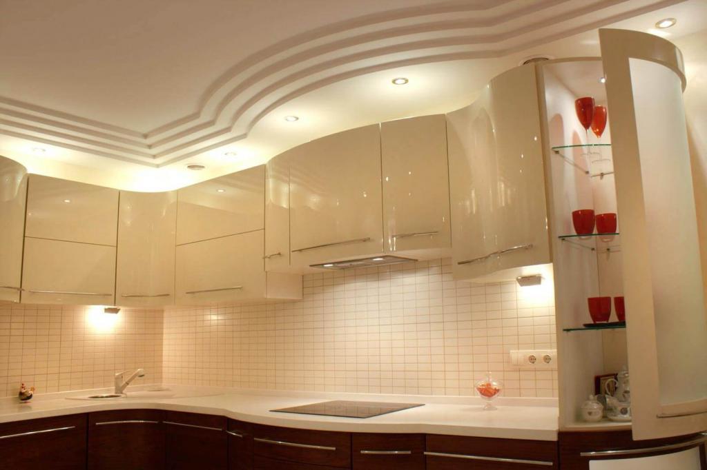Потолки для кухни своими руками 449