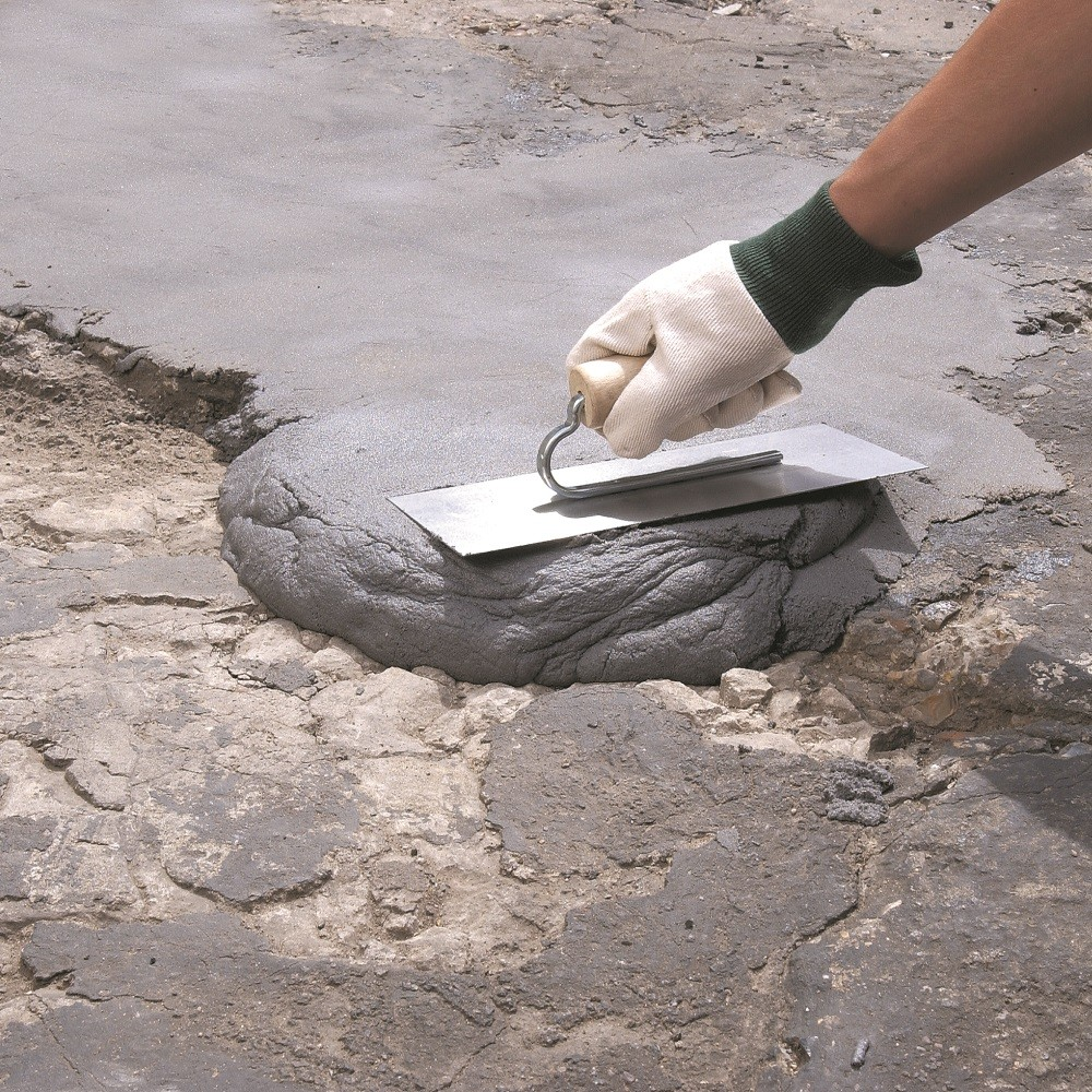 how to lay paving concrete