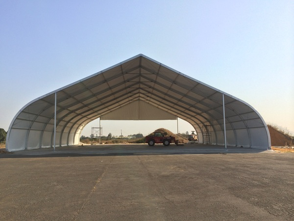 do-it-yourself arched hangar