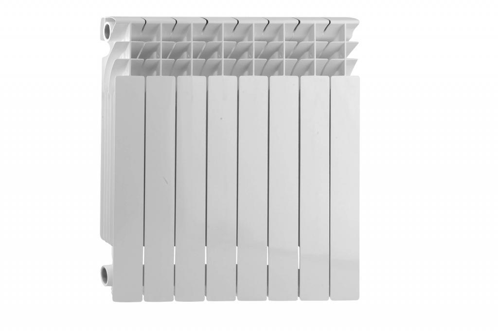 мощность секции алюминиевого радиатора 500