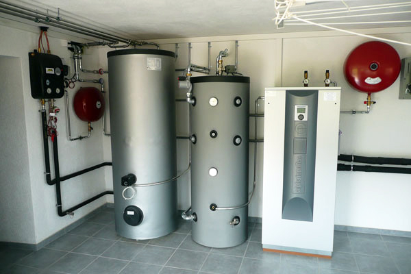 solid fuel boilers for a private house