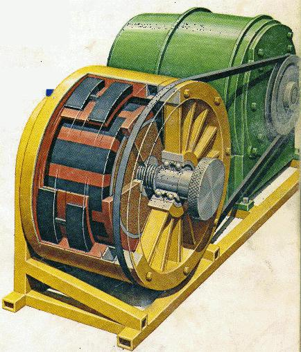 ветро генератор из асинхронный двигателя