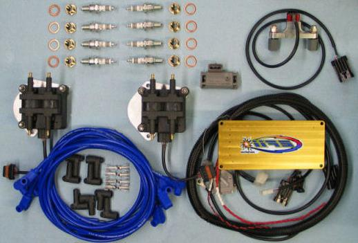 установка электронного зажигания