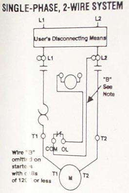 схема подключения магнитного пускателя пмл