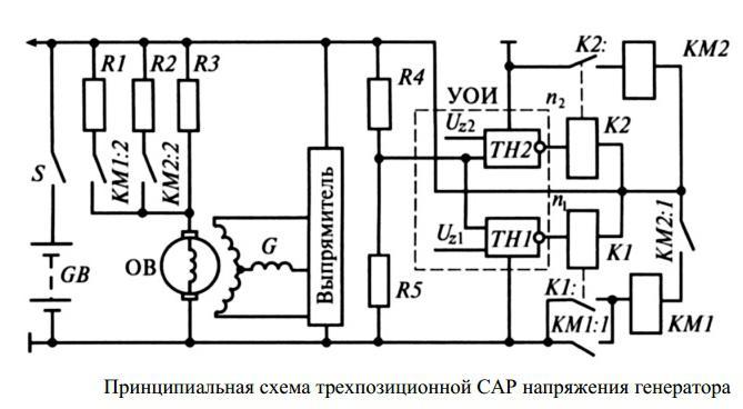 реле регулятор напряжения генератора форд сиерра