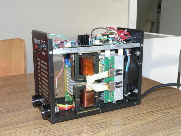 принципиальная электрическая схема сварочного инвертора