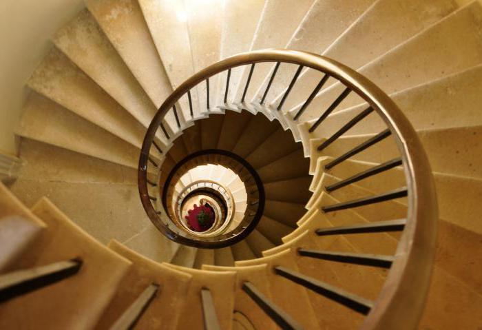 Винтовая лестница своими руками - из металла 87