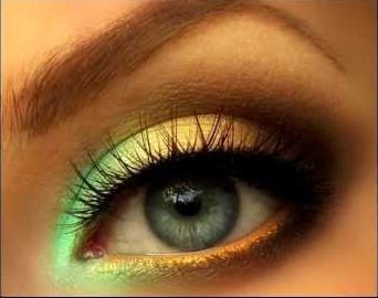 Правильный макияж для голубых и зеленых глаз