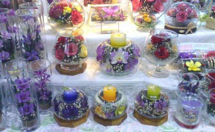 орхидеи в вакууме