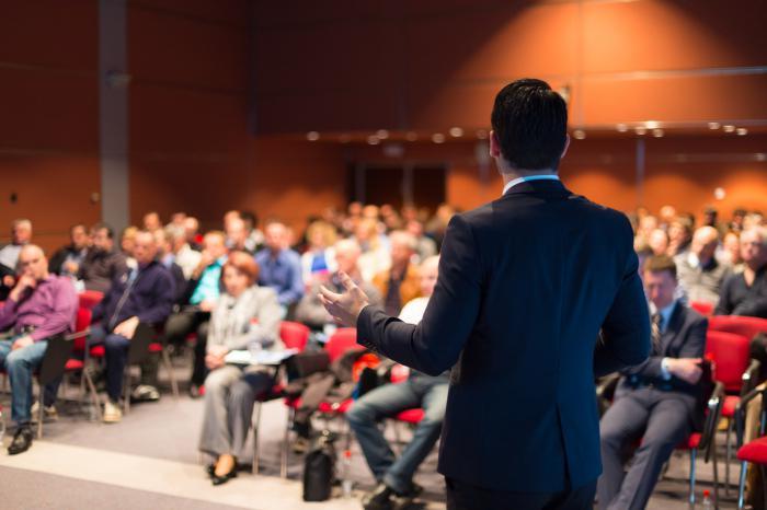 Конференция — это средство общения меж людьми