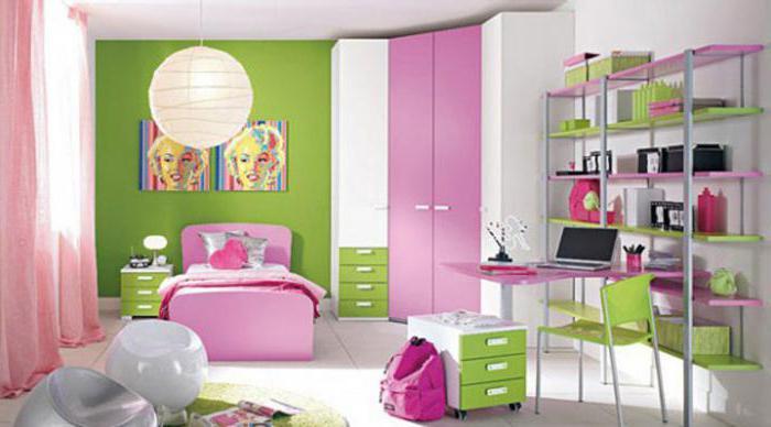 Интерьеры комнат для девочек 12 лет