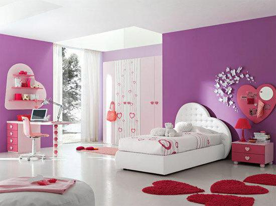 Детская комната для девочки 12 лет