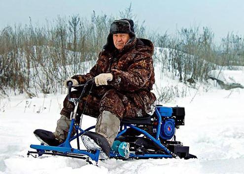 снегоход рыбак официальный сайт