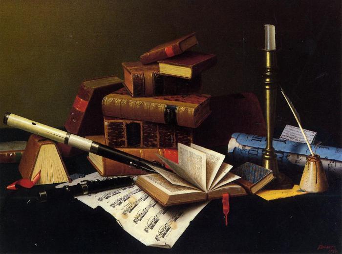 музыка и литература картинки