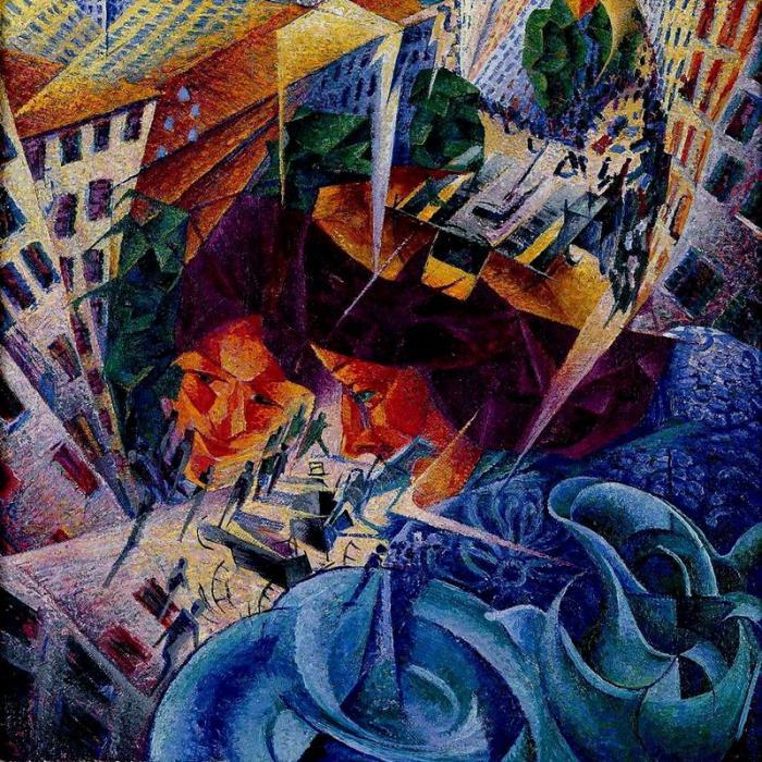 футуризм в русской живописи