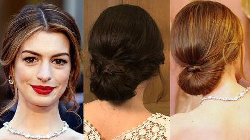 Прически со шпильками на средние волосы