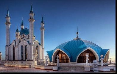 """Предпросмотр схемы вышивки  """"Мечеть """" ."""