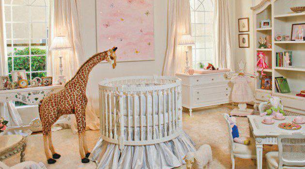 Детские кроватки круглые для новорожденных
