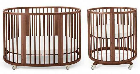 Детские круглые кроватки для новорожденных фото