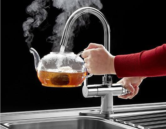 Устройство крана для воды