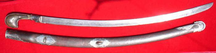 Казацкая сабля: описание и фото. Старинное холодное оружие