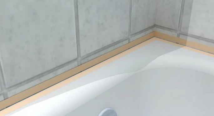 Уголки для ванных стыков