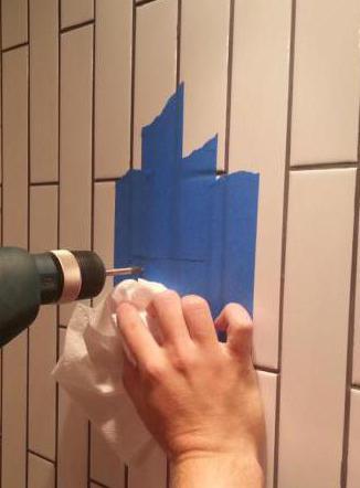 Сверла для керамической плитки и стекла