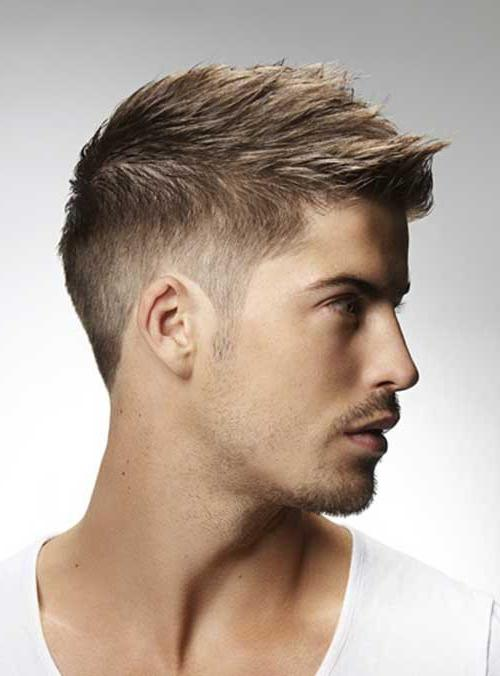 мужские прически на средние волосы фото