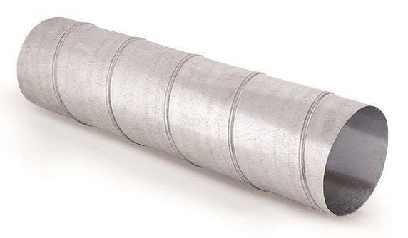 Воздуховоды круглого сечения из оцинкованной стали ГОСТ