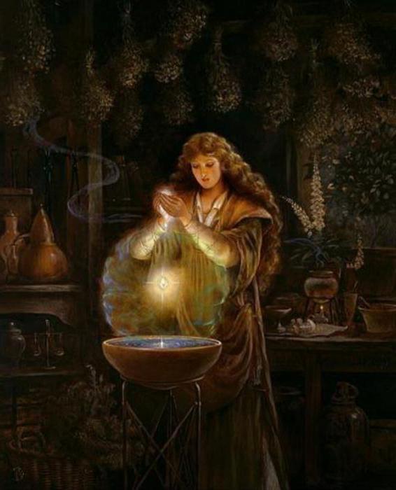 Значение слова ведьма