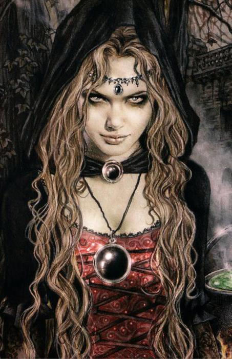 Описание ведьмы кто такая ведьма