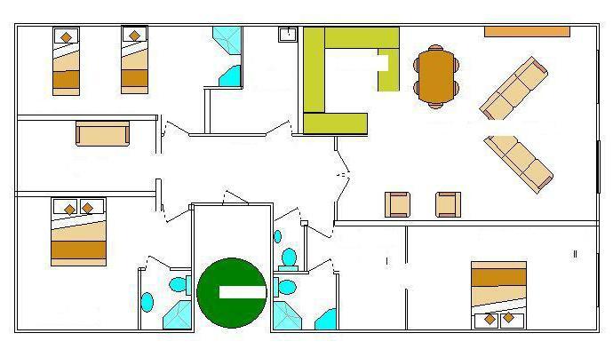 Гардеробная комната маленьких размеров