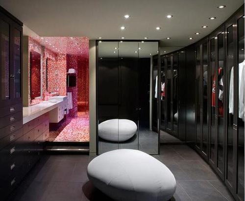 Идеи дизайна гардеробной комнаты