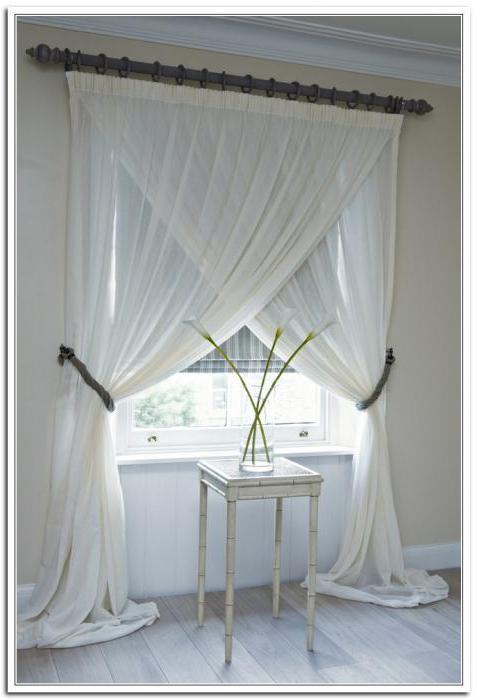 Как красиво собрать шторы