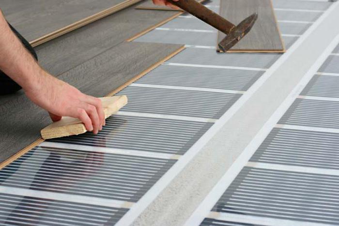 Подключение теплого пола к электричеству схема