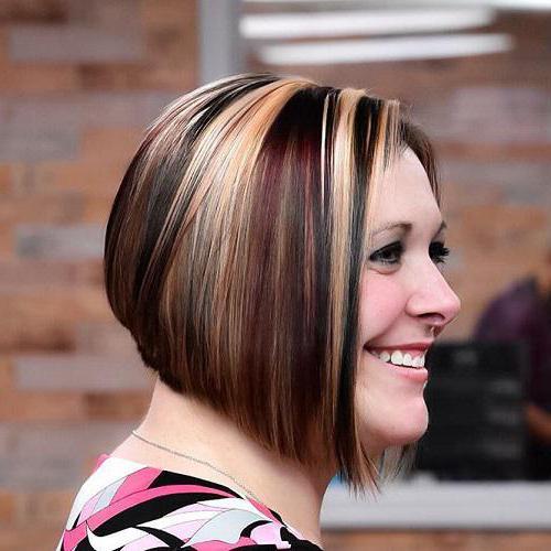 Мелирование рыжие коричневые волосы