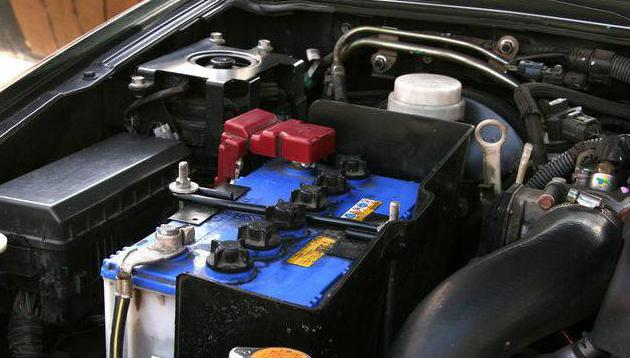 Обслуживаемые аккумуляторы автомобильные